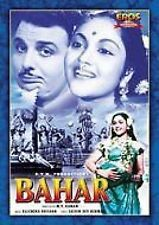 BAHAR - Vyjayntimala, Karan Diwan - NEW BOLLYWOOD DVD – FREE UK POST