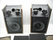Vintage BOSE 301 SERIES II Bookshelf DIRECT/REFLECTING SPEAKERS Left & Right