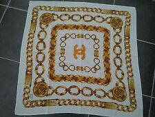 Authentic Ladies Rue Cambon CHANEL Silk Head scarf