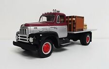 1:34 1st First Gear 1957 International R-190 Half Rack Stake Truck with load