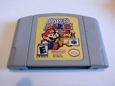 Paper Mario N64 Nintendo 64 Tested Printed Label