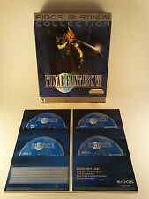 RARE! Final Fantasy VII 7 Platinum Collection PC CD Big Box - FREE SHIPPING!