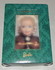 Holiday Caroler PORCELAIN BARBIE Limited Edition Christmas Doll (15760)