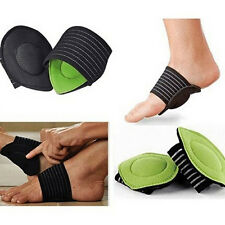 1Pair Cushioned Arch Foot Support Helps Decrease Plantar Fasciitis Pain Insoles