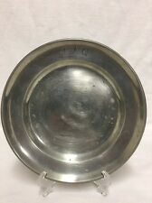 1700's Antique Pewter Plate (lh103)