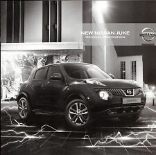 Nissan Juke 2010-11 UK Market Specification Brochure Visia Acenta Tekna