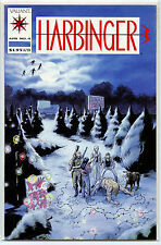 Valiant Comics Harbinger Issue #4 in nm/m Condition with Coupon from 1992