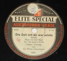 78rpm/Elite Special 8081/HORST WINTER/IRISH LULLABY/DIE ZEIT MIT DIR WAR SCHÖN *