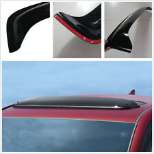 Weather Tech No-Drill Vehicle Sunroof Wind Deflector Rain-proof Windproof Black