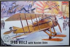 RODEN 617 1/32 Spad VII c.1 with Russian skies