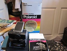 Polaroid SX-70 Land Camera Sonar OneStep - Beautiful with Original Box, Manual