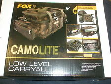 Fox Camolite Low Level Carryall Carp fishing tackle