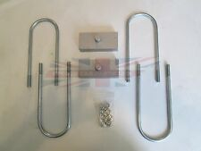"""Rear Axle 1"""" Lowering Block Kit for MGB 1968-1980 Great Quality Made in UK"""