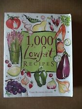 1,000 Recipes: 1,000 Low Fat Recipes by Terry Blonder Golson (1997, Paperback)
