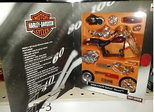 Harley Davidson 2000 FXSTD Softail Deuce Motorcycle Die-cast 1:18 Maisto 5in Kit