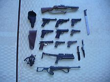 lot of HAND GUNS AND KNIVES FOR 12 INCH GI  JOE FIGURES