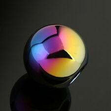 Neo Chrome Manual Round Shift Knob Universal Fit Honda Mazda Nissan Toyota Ford