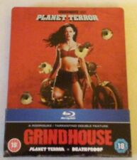Grindhouse: Death Proof/Planet Terror Blu-ray Steelbook OOP Zavvi Exclusive UK