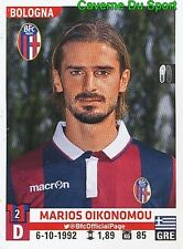 043 OIKONOMOU GREECE BOLOGNA.FC PAS Giannina STICKER CALCIATORI 2016 PANINI