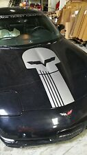 Chevrolet Corvette Jake Skull Decal Fits C-5 and up