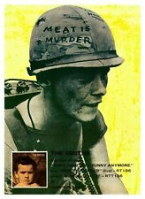 the Smiths POSTER Meat Is Murder  *LARGE*  Promo Morrissey Johnny Marr peta