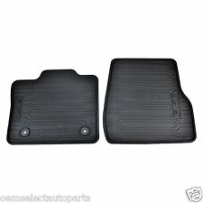 OEM NEW 15-16 Ford F-150 Front REG CAB All Weather Vinyl Floor Mat Kit BLACK