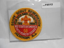 SCHIFF SCOUT RESERVATION 1960 5OTH ANNIV SCOUTING F8512