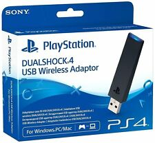 Official Sony DualShock USB Wireless Adapter Playstation 4 PS4 NEW SEALED