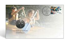 2008 Australia Centenary of Scouts 50c Coin - PNC Stamp & Coin Cover