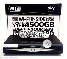 SKY PLUS +HD BOX AMSTRAD DRX890W 500GB NEW SLIMLINE BOX WIFI BUILT IN