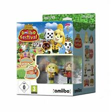 Animal Crossing Amiibo Festival Wii U Game Brand New