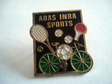 PINS RARE ASSOCIATION ADAS INRA SPORTS TENNIS FOOTBALL VELO PING PONG