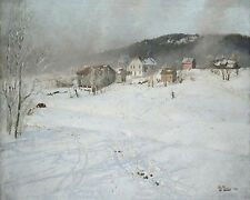 Winter Frits Thaulow  24' CANVAS