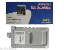 WF PFI-702 Photo Gray Ink Cartridge Compatible for Canon Printer iPF 8100 9100
