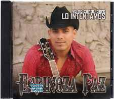 CD - Espinoza Paz NEW Yo No Canto Pero Lo Intentamos FAST SHIPPING !