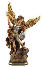 "10"" Large St. Michael the Archangel - Beautiful Woodcarving from Northern Italy"