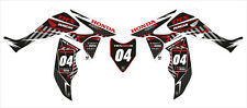 (B) RACING DECAL STICKER KIT IN MX VINYL FITS HONDA TRX 450R (NON OEM)