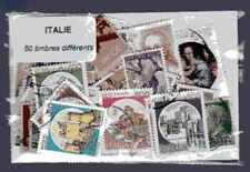 Italie - Italy 50 timbres différents