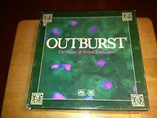 vintage 1988 outburst -the game of verbal explosions