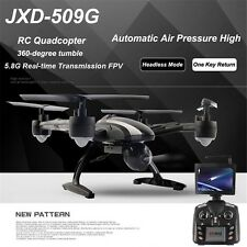 JXD 509G RC Drones with HD Monitor Camera 5.8G FPV Altitude Hold Quadcopter