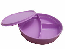 TUPPERWARE DIVIDED DISH LUNCH BOX FOR KIDS -NEW CLR