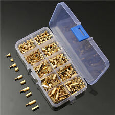 300Pcs M3 4-12mm Brass Hex Spacer Screw Nut Motherboard Standoff Support Lots