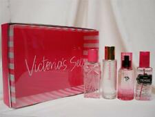 NIB VICTORIA SECRET 4pc BODY MIST SET:HEAVENLY,VICTORIA,NOIR TEASE,BOMBSHELL