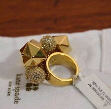 Kate Spade CUTE gold Pop Rocks cluster Ring size 7 RETAIL $95+