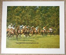 Evergreen Champions Roy Miller Fine Art LE Horse Racing Picture Superb