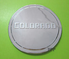 CHROME DOOR FUEL TANK CAP COVER FOR CHEVROLET HOLDEN COLORADO 2012-2014 4WD ONLY
