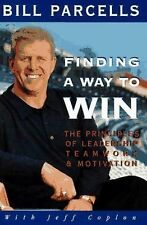 Bill Parcells - Finding A Way To Win (1995) - Used - Trade Cloth (Hardcover