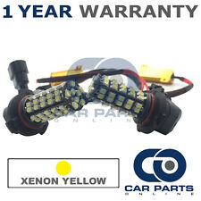 2X CANBUS YELLOW HB4 60 SMD LED DIP BEAM BULBS FOR ALFA ROMEO GTV SPIDER BMW Z3