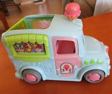 Fisher-Price/Mattel Loving Family Sweet Streets Ice Cream Truck, RARE Blue Color