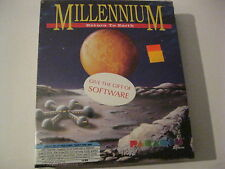 """Millennium Return To Earth  New PC Game 5.25"""" disks sealed Paragon Software 1991"""